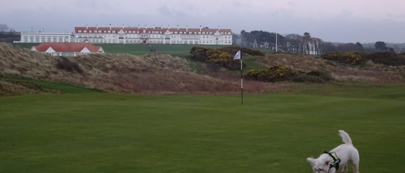 Turnberry….Beach, Light House Castle and Runway