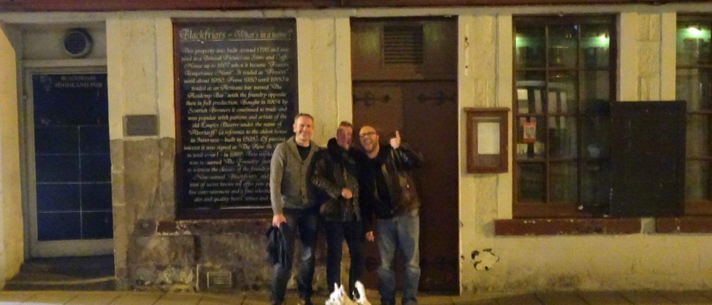 Meeting Paul and Matt at MacGregor
