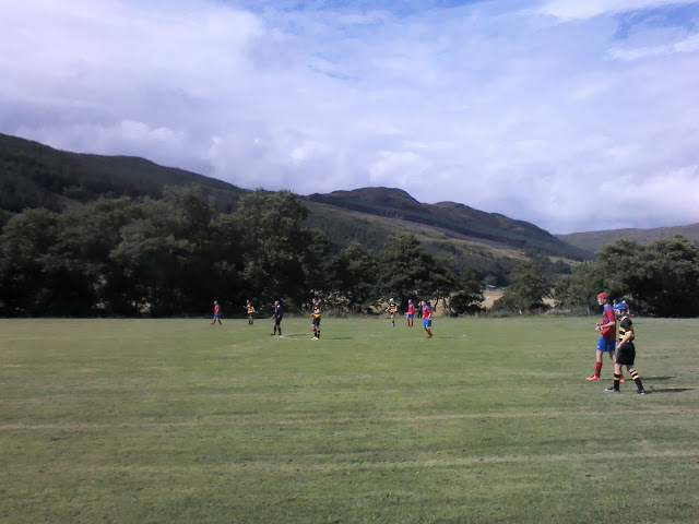 Clachan of Glendaruel against Balaghulish game ended up a draw 2-2