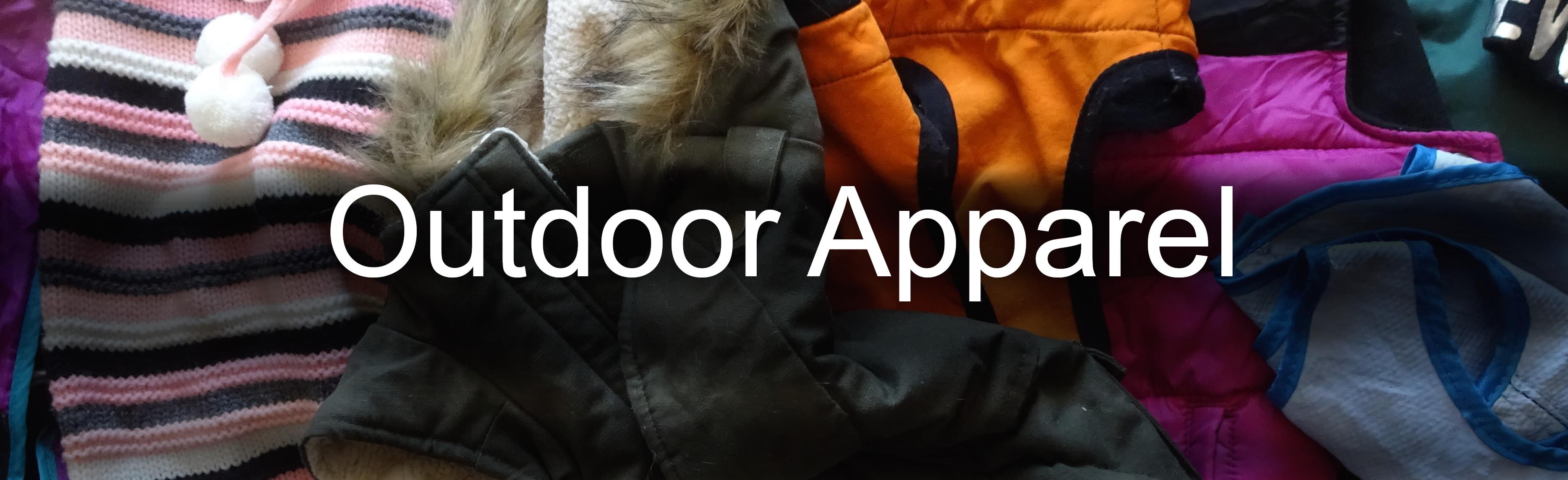 outdoor apparel arial