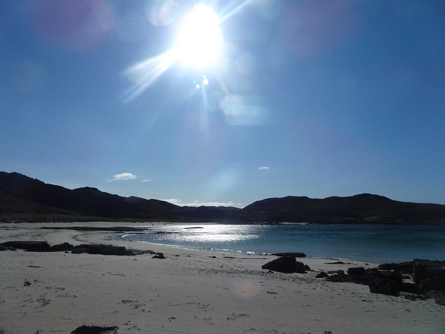 lunch spot at Sanna Beach