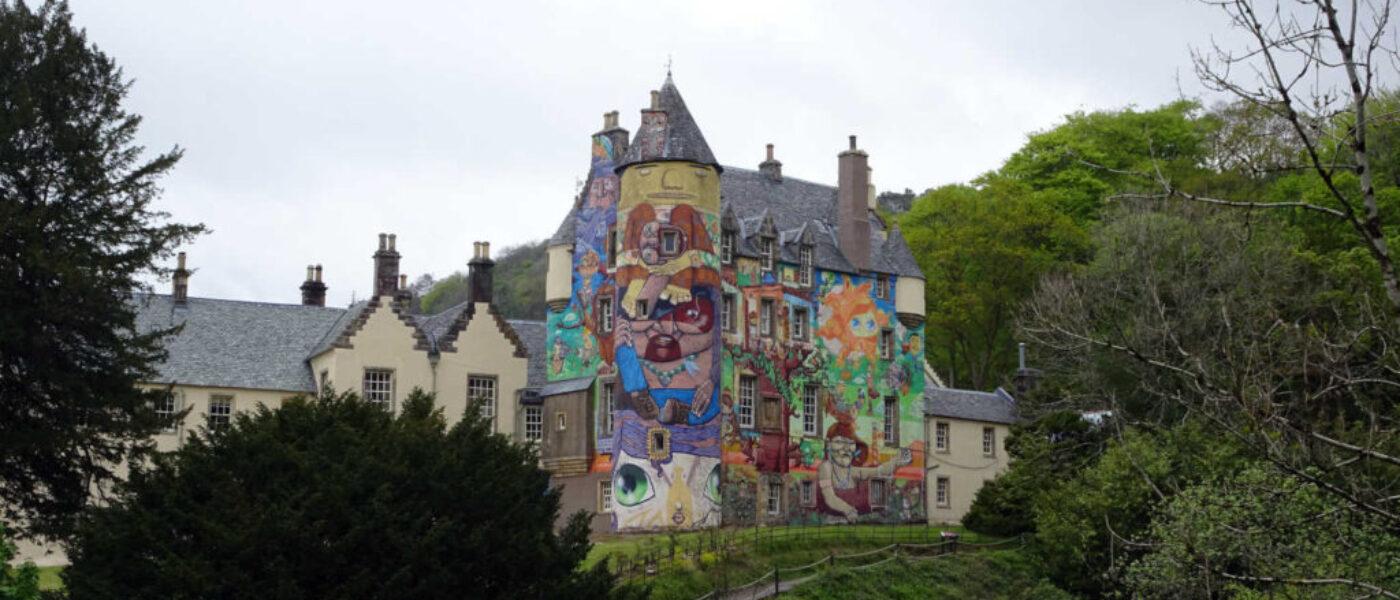 Poppy Goes to Kelburn Castle