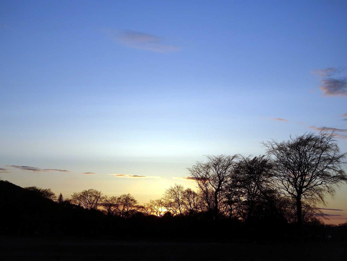 lochransa campsite sunset