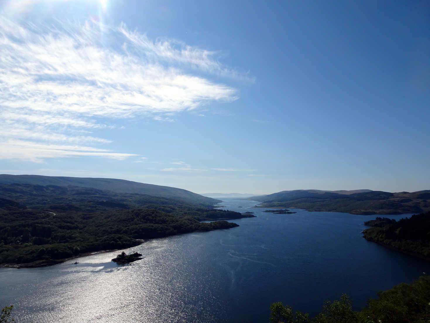 Morning over Loch Ruel