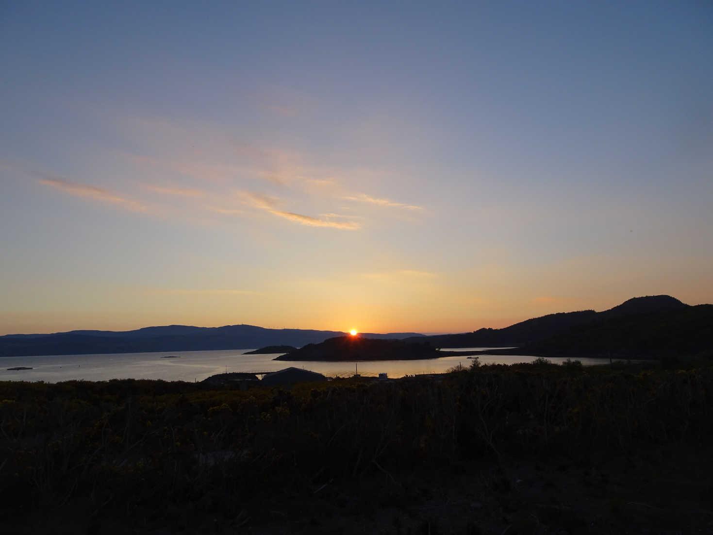 another portavadie sunset