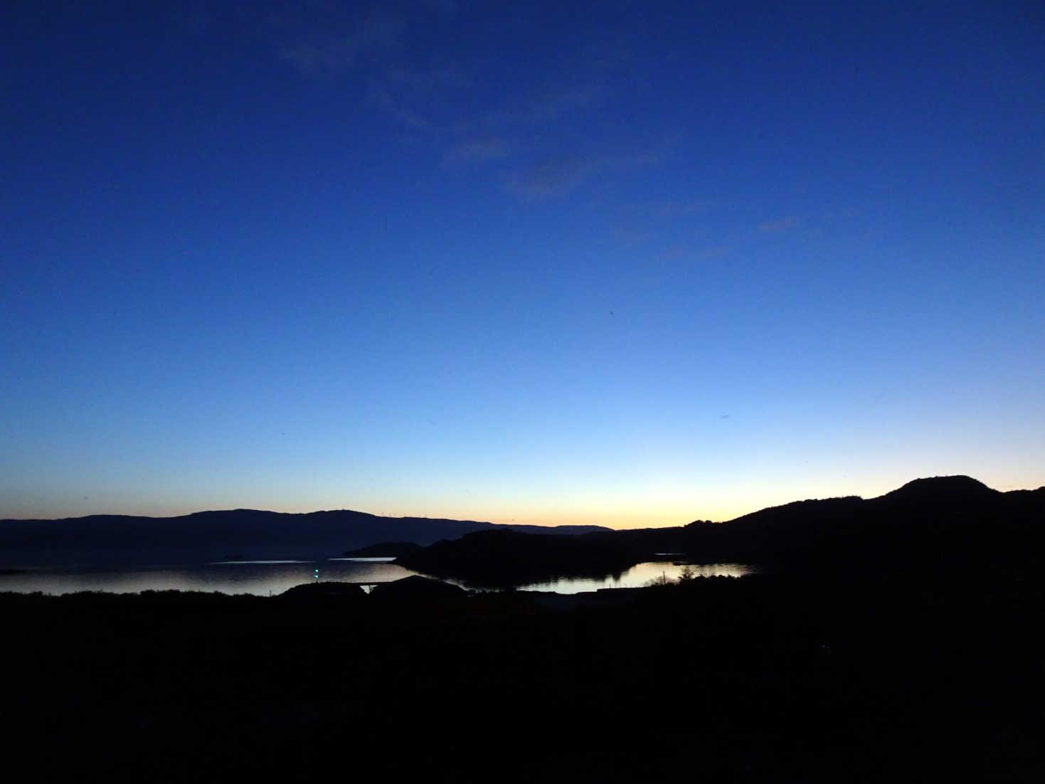 sunset day 3 over portavadie