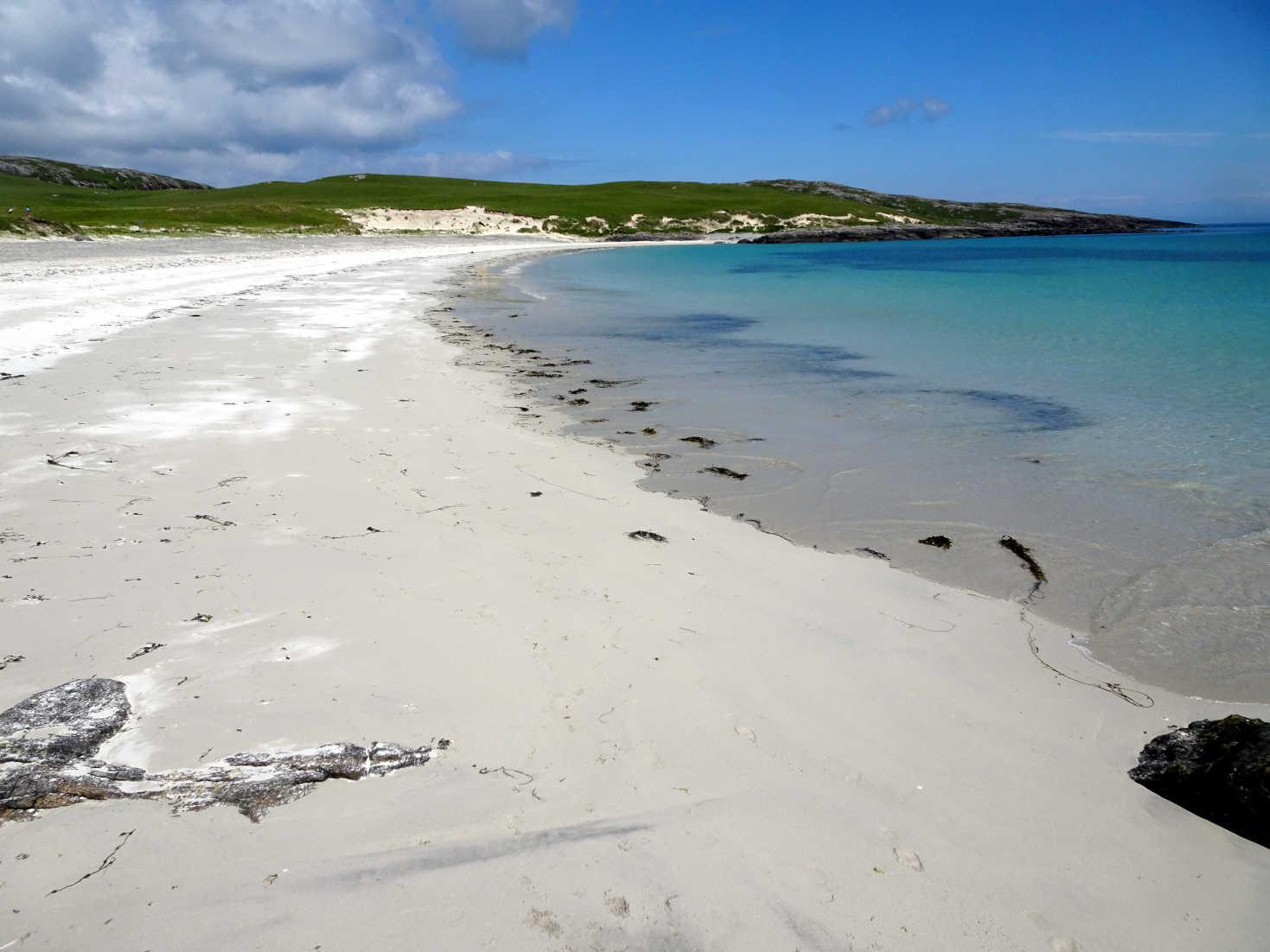 Bagh A Deas beach Vatersay
