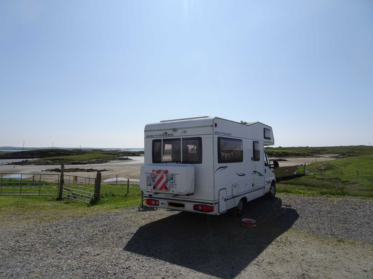 Betsy at Moorcroft Campsite Isle of Uist