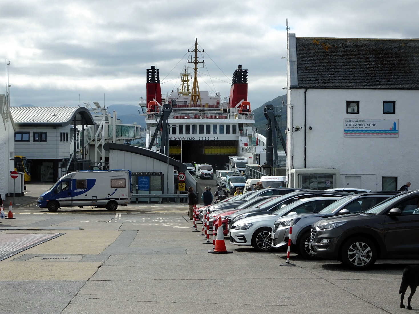 the stornaway ferry