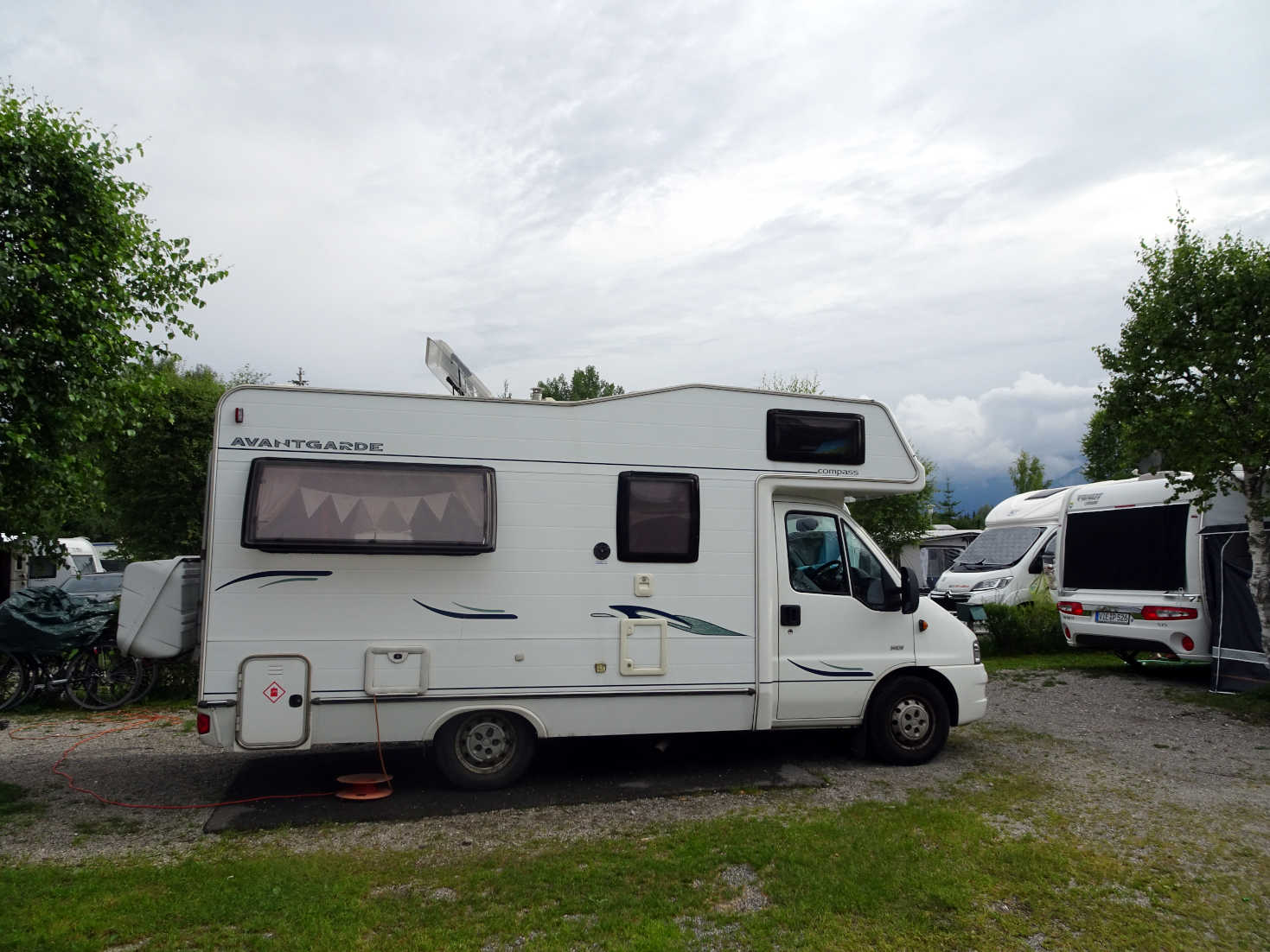 betsy at camping hopfensee bavaria