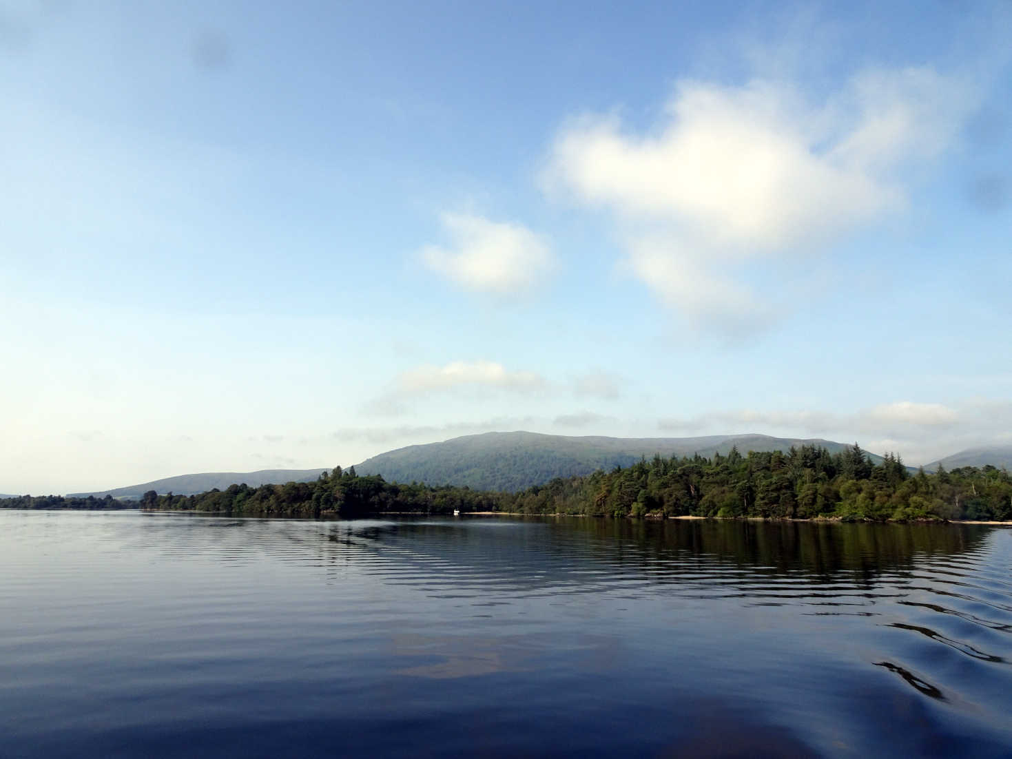 loch lommond west from boat