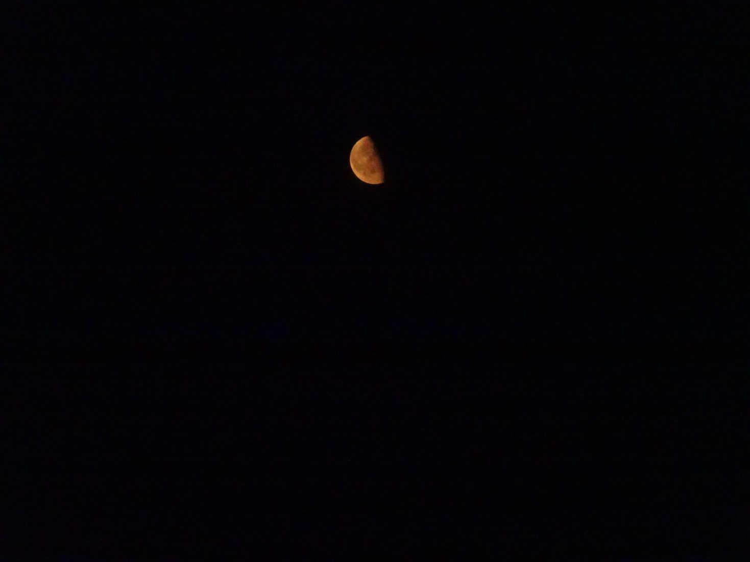 orange moon at luss