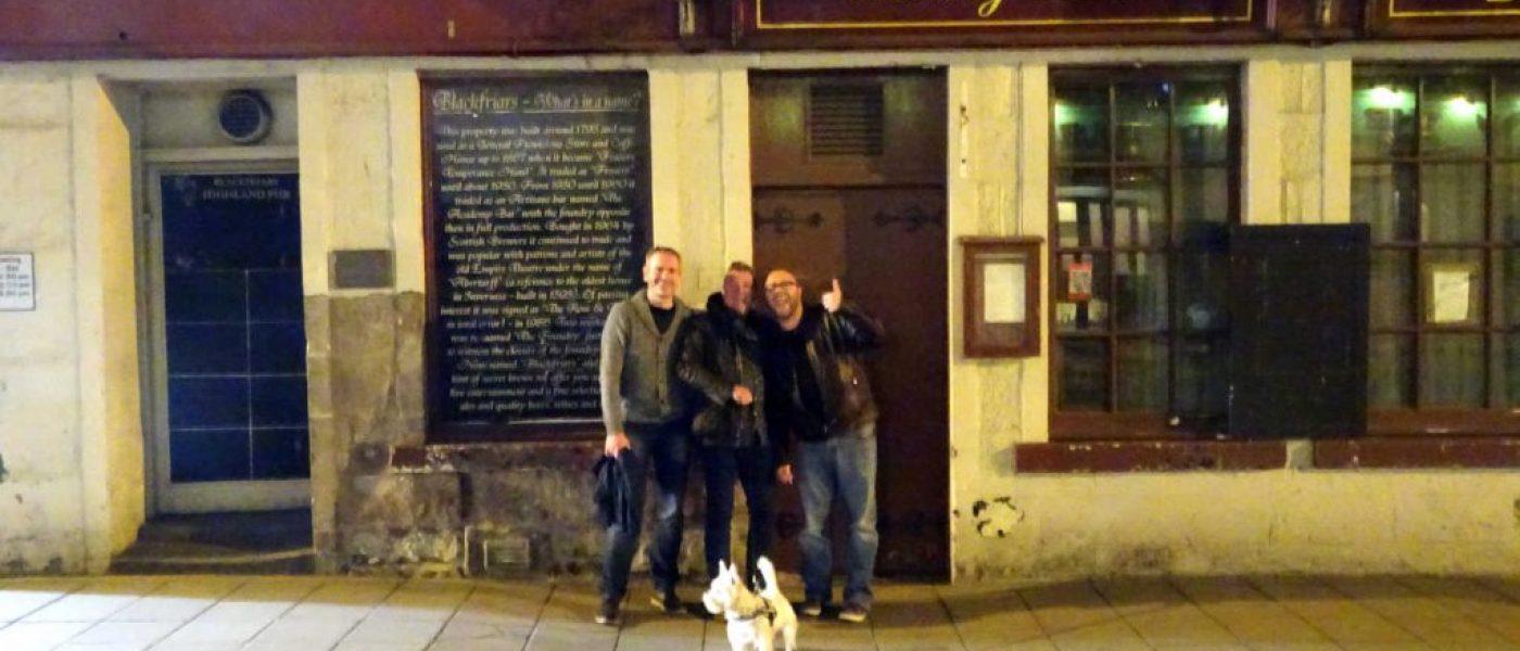 Meeting Paul and Matt at MacGregor's Inverness