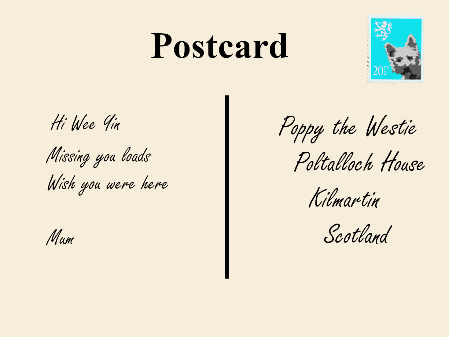 Postcards from everywhere