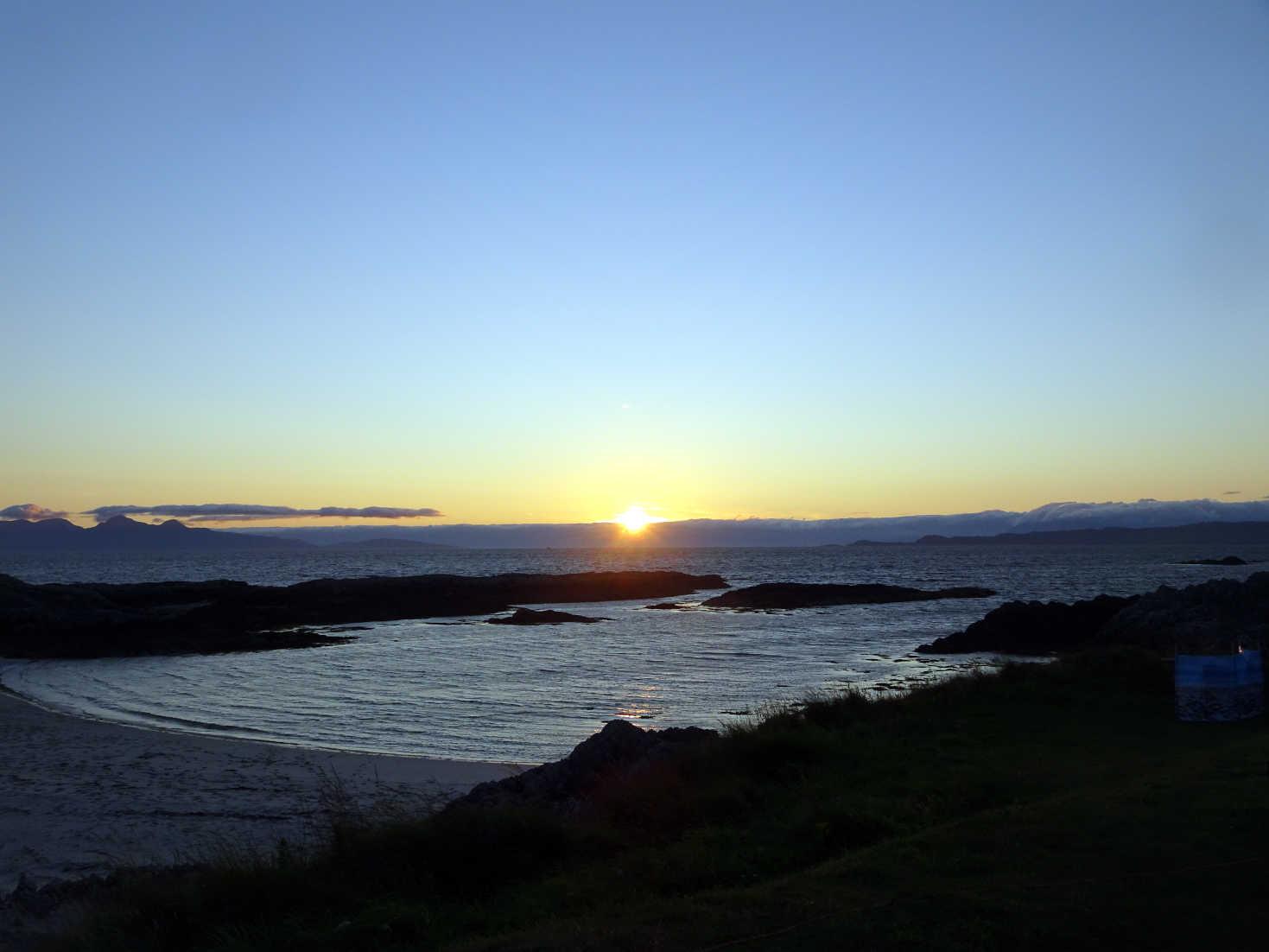 sunset getting better at silversands