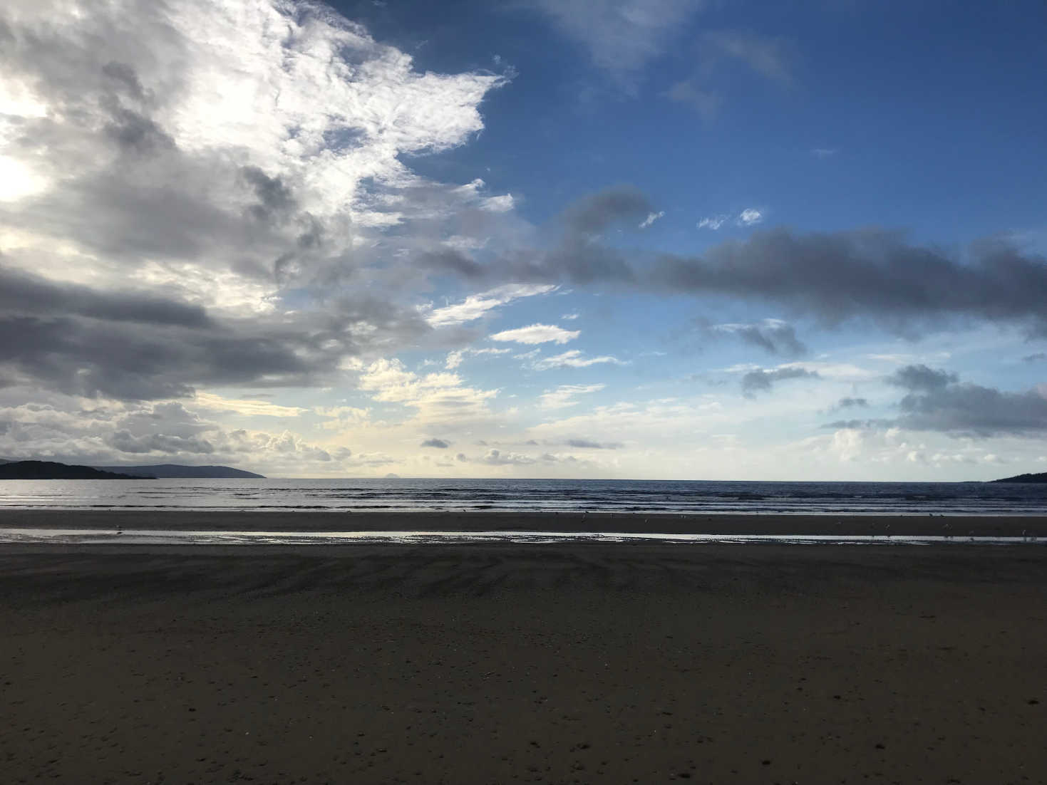caradale beach in the morning