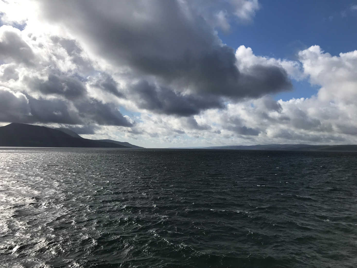 going back to arran