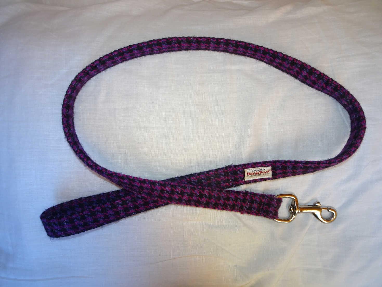 harris tweed leash