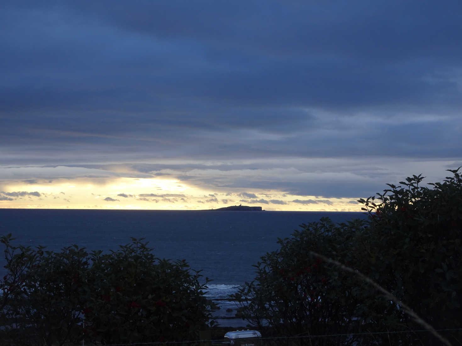 isle of May at dawn